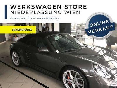 gebraucht Porsche 911 Carrera 4S Cabriolet PDK Sportauspuff Ganzleder