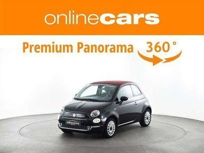 gebraucht Fiat 500C 1,2 Lounge TEMP KLIMA MEGAPREIS Cabrio / Roadster