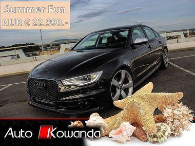gebraucht Audi A6 3,0 TDI Quattro S-Tronic -RS6 Optik -1.Besitz Limousine