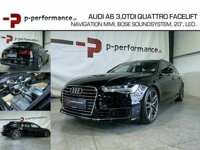 gebraucht Audi A6 3.0 TDI quattro Facelift Navi Bose Led...