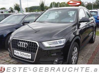 gebraucht Audi Q3 2,0 TDI Bi-Xenon Klimaautom PDC Tel.Vorbereitun SUV / Geländewagen,