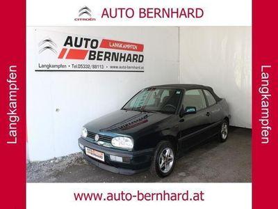 used VW Golf Cabriolet Cabrio / Roadster,