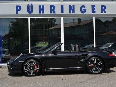 brugt Porsche 911 Turbo Cabriolet Cabrio II Allrad DSG *Approved bis 05... / Roadster,