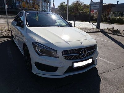 gebraucht Mercedes CLA180 Coupe AMG Line & Chrom-Paket & Panoramadach