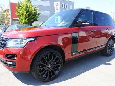 gebraucht Land Rover Range Rover 3,0 SDV6 Hybrid Autobiography Black