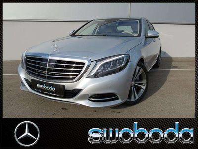gebraucht Mercedes S350 BT 4M lang Aut.LED Memory TV Funktion Finanz.mögl.