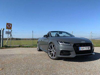 gebraucht Audi TT Roadster S line Competition 2.0 TFSI quattro S tronic Cabrio /