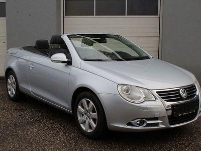gebraucht VW Eos 2,0 TDI DPF *1.Besitz/Topausstattung* Cabrio / Roadster