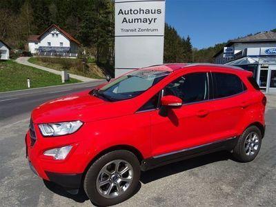 gebraucht Ford Ecosport 1,0 EcoBoost Titanium Aut. SUV / Geländewagen,