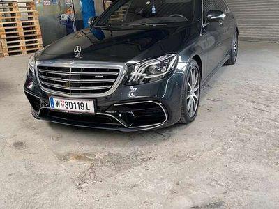 gebraucht Mercedes S63 AMG S 63 AMG -Klasse Lang Allrad (W222) Mercedes- lang4MAT