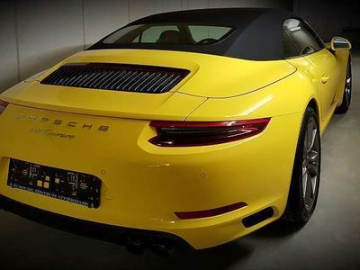 gebraucht Porsche 911 Cabrio*WIE NEU*PDK-Sport Crono*1 Bes.*Leasing Cabrio / Roadster,