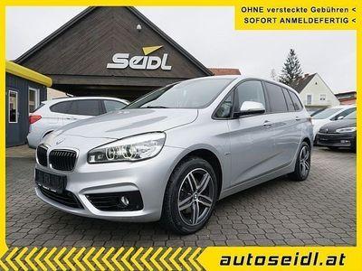 gebraucht BMW 218 Gran Tourer 2er-Reihe d xDrive Sport Line Aut. *LED+NA... Kombi / Family Van