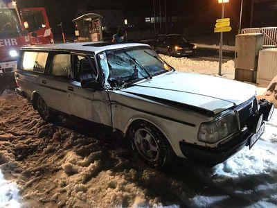 usata Volvo 240 Serie 200 200unfall ausschlachten wieder aufbauen Kombi / Family Van,
