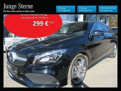 gebraucht Mercedes CLA200 Shooting Brake CLA-Klasse d 4MATIC Aut. Kombi / Family Van,