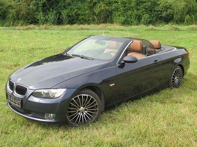 gebraucht BMW 320 Cabriolet 3er-Reihe d Cabrio Österr.-Paket Aut. LEDER, NAVI prof. / Roadster