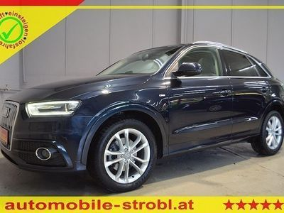 gebraucht Audi Q3 2,0 TDI S-Liine/Pano/Navi/Xenon/Leder! ... !GARAN