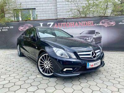 gebraucht Mercedes E500 Coupe 7G-TRONIC Avantgarde   AMG PAKET   PANORAMA 
