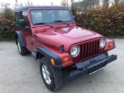 gebraucht Jeep Wrangler TJ 2.5L Hard Top, 2.Besitz, Pickerl bis 09/2020 SUV / Geländewagen