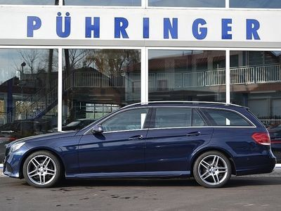 gebraucht Mercedes E300 BlueTEC T Aut. *AMG-Sportpaket*ILS*Navi*