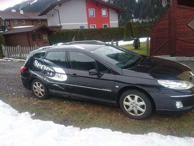 gebraucht Peugeot 407 SW Kombi 1,6 D HDI 110 Kombi / Family Van