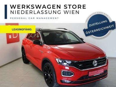 gebraucht VW T-Roc 2.0 TSI DSG 4Mo. 2x R-Line 19 LED Autom./Klima