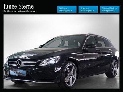 gebraucht Mercedes C220 C-Klassed T 4MATIC Austria Edition AMG Line Aut. Kombi / Family Van,