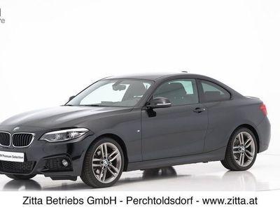 gebraucht BMW 218 2er-Reihe d Coupé M Sport Aut. Sportwagen / Coupé,