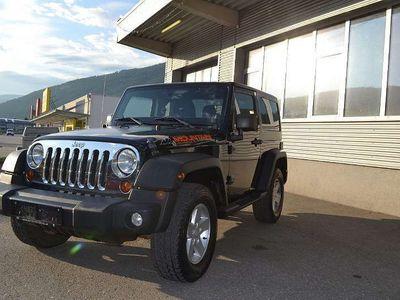gebraucht Jeep Wrangler Mountain 2,8 CRD Aut. Vorlauffahrzeug. SUV / Geländewagen,