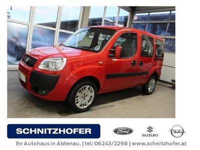 gebraucht Fiat Doblò 1,3JTD *7 Sitze*Klimaanlage*