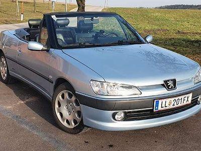 gebraucht Peugeot 306 Cabriolet 1,8 Premium / Roadster