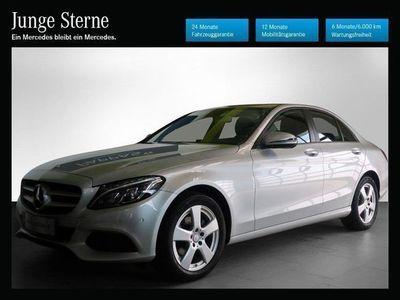gebraucht Mercedes C180 C-Klassed Aut. Limousine,