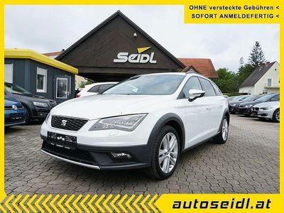gebraucht Seat Leon X-Perience ST 2,0 TDI CR 4Drive *LED+NAVI+... Kombi / Family Van,