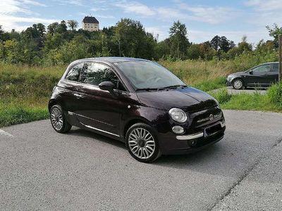 gebraucht Fiat 500 Lounge violett 1,2l 69 PS Limousine