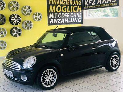 gebraucht Mini One Cabriolet Austrian Pepper 1,6 TOP ZUSTAND