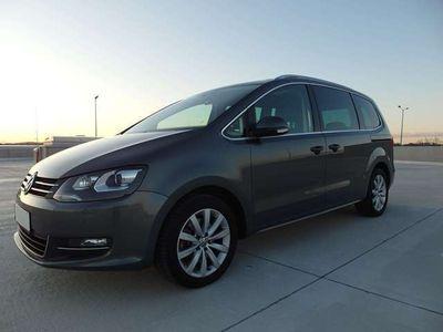 gebraucht VW Sharan Sky 2,0 TDI 4Motion-Erstbesitz-Navi-AHK uvm Kombi / Family Van