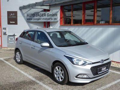 gebraucht Hyundai i20 75PS CRDi Parkhilfe Tempmat Sitz/Lenkradhzg