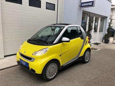 gebraucht Smart ForTwo Cabrio - Passion Cabrio / Roadster