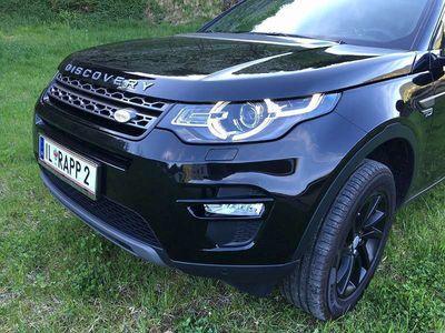 gebraucht Land Rover Discovery Sport 2.0 td 150 Ps Allrad Schwarz SUV / Geländewagen