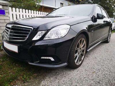 gebraucht Mercedes E220 AMG Avantgarde BlueEfficiency CDI Aut.