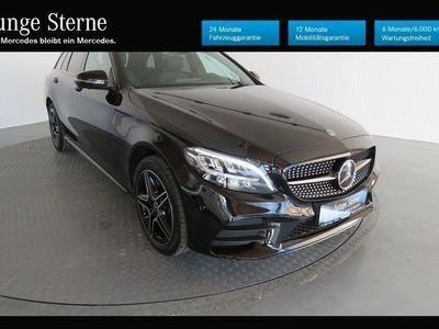 gebraucht Mercedes C220 d 4MATIC T-Modell AMG Line NP: 62.401 €