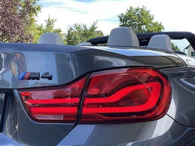 gebraucht BMW M4 Cabriolet M-DKG Aut. 1.Besitz! 19 Zoll Vollleder