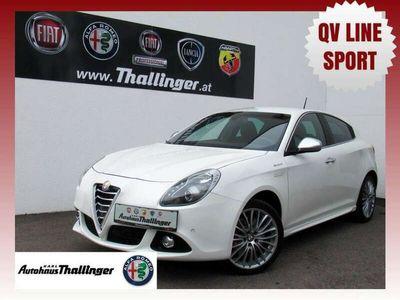 gebraucht Alfa Romeo Giulietta Romeo Exclusive 120 **QV LINE**