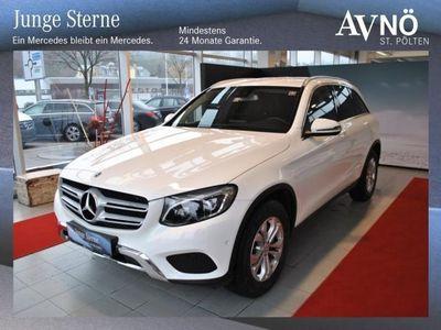 gebraucht Mercedes GLC220 d 4MATIC Allrad LED Navi Automatik Einpark
