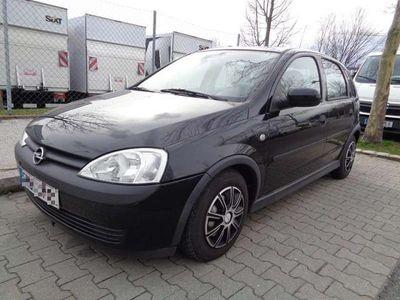 used Opel Corsa 1.2 schwarz, BJ 2002, 211.000 km Klein-/