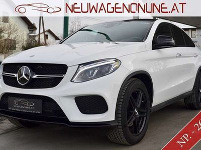 gebraucht Mercedes 350 GLE-Klasse GLE Coupéd 4MATIC Automatik AMG Jungwagen - 25 % SUV / Geländewagen,