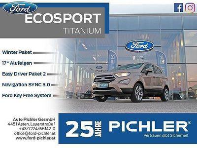 gebraucht Ford Ecosport Titanium 1,0 Ecoboost 100PS LEASING AKTION