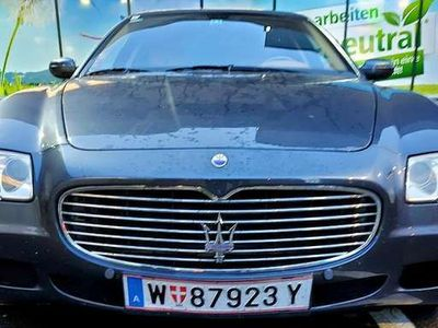 gebraucht Maserati Quattroporte Auspuffanlage extra verbaut und Typisiert
