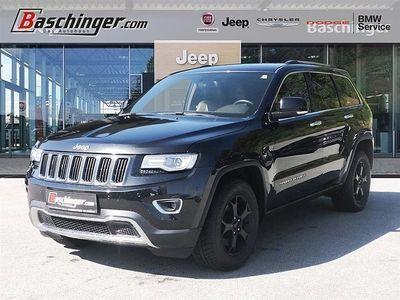 gebraucht Jeep Grand Cherokee 3,0 V6 CRD Limited - Stammkundenfahrzeug