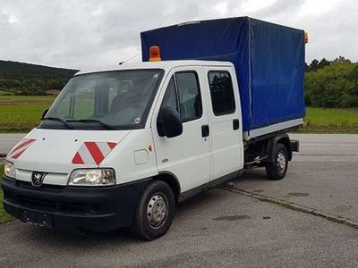 gebraucht Peugeot Boxer 330L DK 2,2 HDi-- 6.Sitze *119000KM*