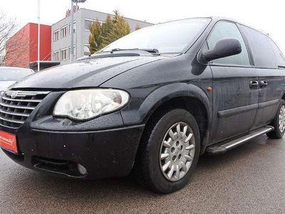 gebraucht Chrysler Voyager 2,8 LX CRD Austria Aut.+7SITZE+PICKERL+ Kombi / Family Van
